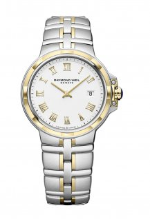 Parsifal Ladies Quartz Classic White Dial