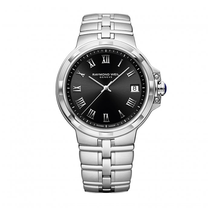 Parsifal Men's Quartz Classic Black Dial