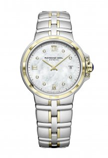 Parsifal Ladies Quartz Classic 8 Diamond