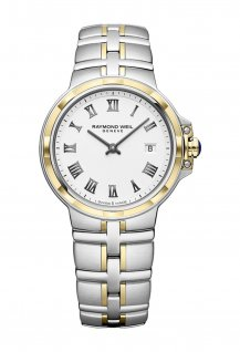 Parsifal Ladies Quartz Classic Two-Tone White Dial