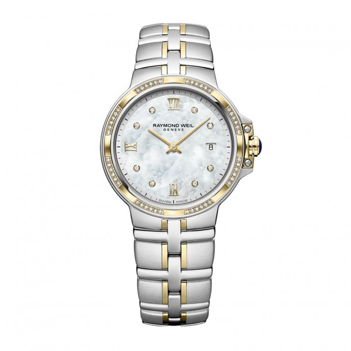 Parsifal Ladies Quartz Classic Two-Tone 56 Diamond Dial