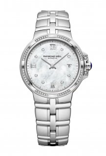Parsifal Ladies Quartz Classic 56 Diamond Mother-Of-Pearl Dial