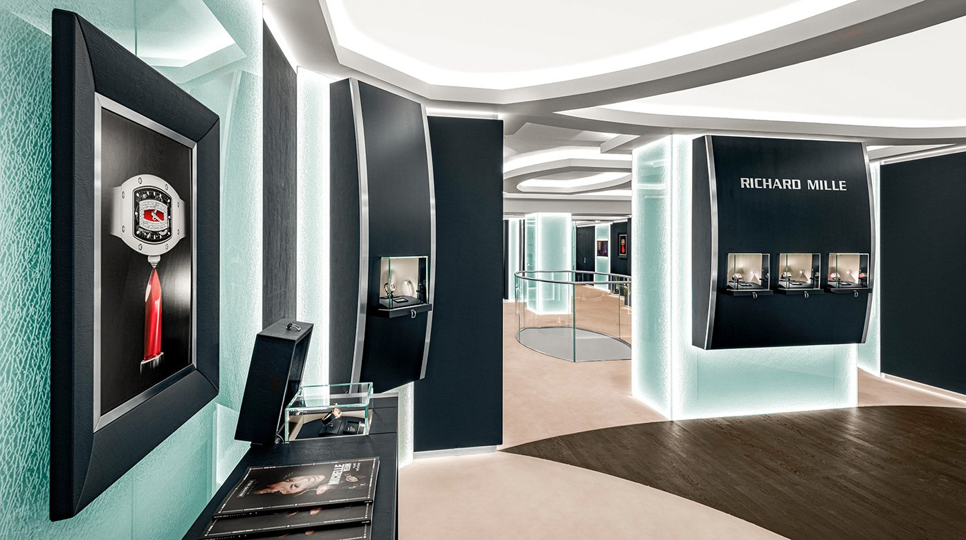 Richard Mille - Réouverture de la boutique de Londres