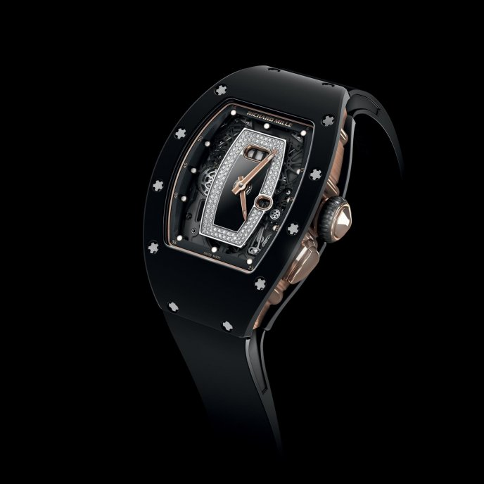 Richard Mille RM 037 Ladies - watch face view