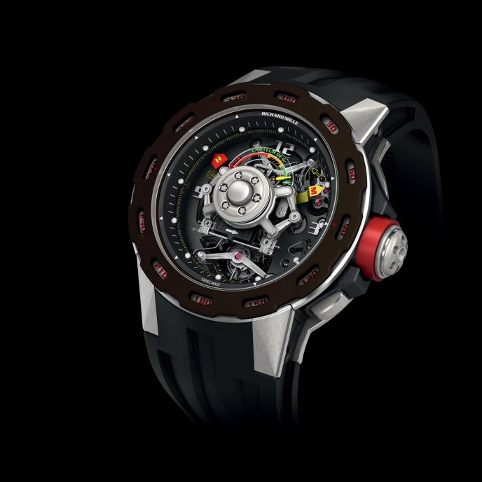 Richard Mille RM 36-01 Sebastien Loeb - watch face view