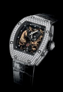 RM 51-01 Tourbillon Tiger and Dragon Michelle Yeoh