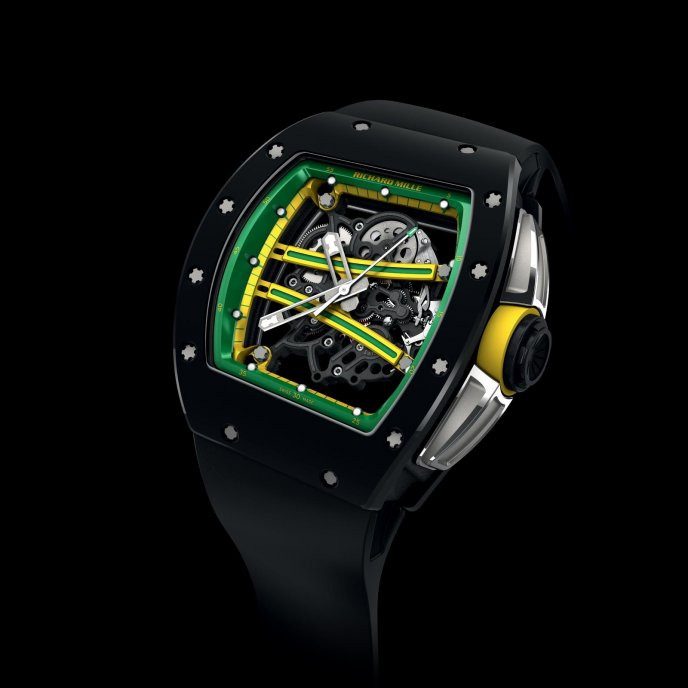 Richard Mille RM 61-01 Yohan Blake - watch face view