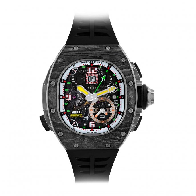 RM 62-01 Tourbillon Alarme Vibrante Airbus Corporate Jet