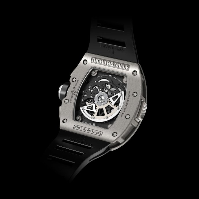 Richard Mille RM11-02 Chronographe Flyback Second Fuseau Horaire Watch-back-view