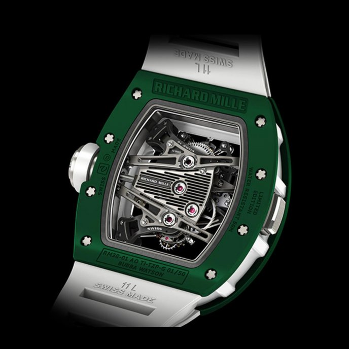 Richard Mille RM 38-01 Capteur De G Bubba Watson Watch-back-view
