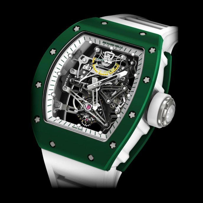 Richard Mille RM 38-01 Capteur De G Bubba Watson Watch-face-view