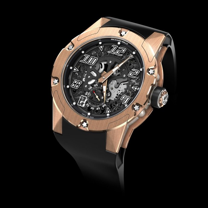 Richard Mille RM 33-01 watch face view
