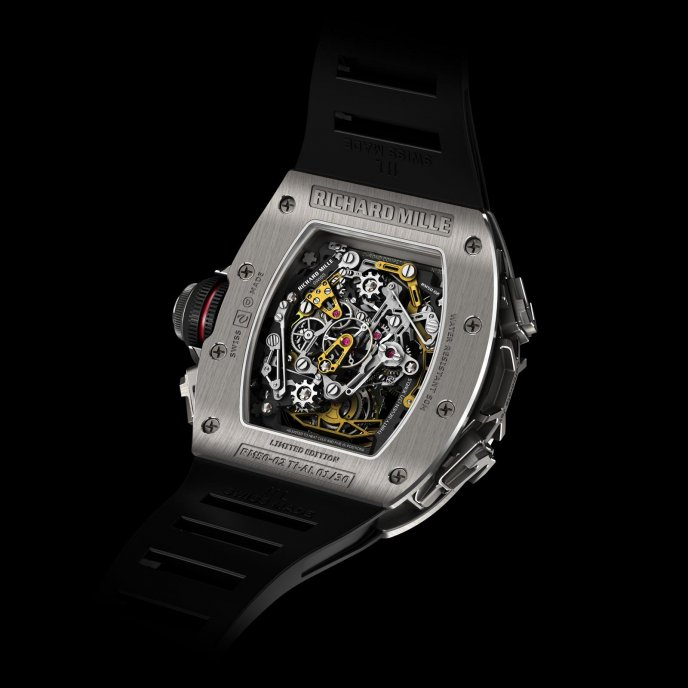 Tourbillon Split Seconds Chronograph RM 50-02 ACJ