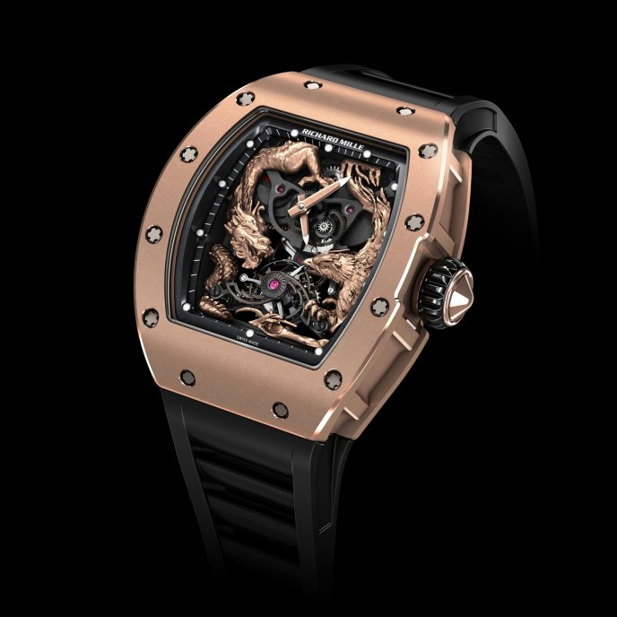 Richard Mille RM 57-01 Tourbillon Phenix et Dragon-Jackie Chan watch-face-view