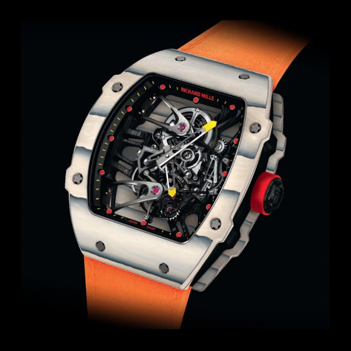 Richard Mille - 27-02 Rafael Nadal - Watch face view
