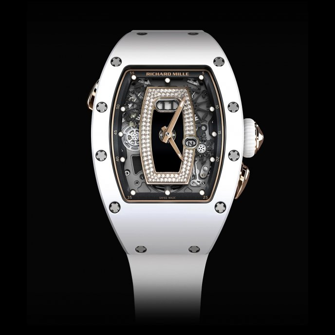 Richard Mille - RM 037 Ladies - watch face view