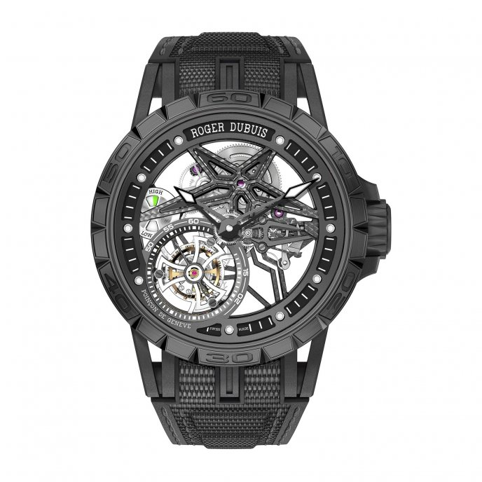 Excalibur Spider Pirelli - Single flying tourbillon