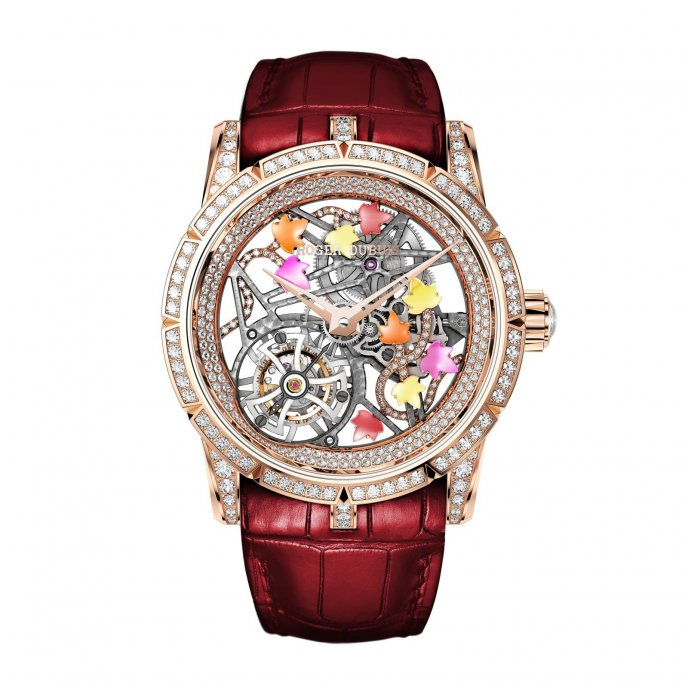 Roger Dubuis Excalibur Brocéliande watch face view