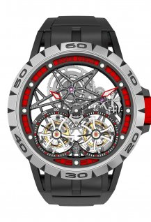 Spider Skeleton Double Flying Tourbillon