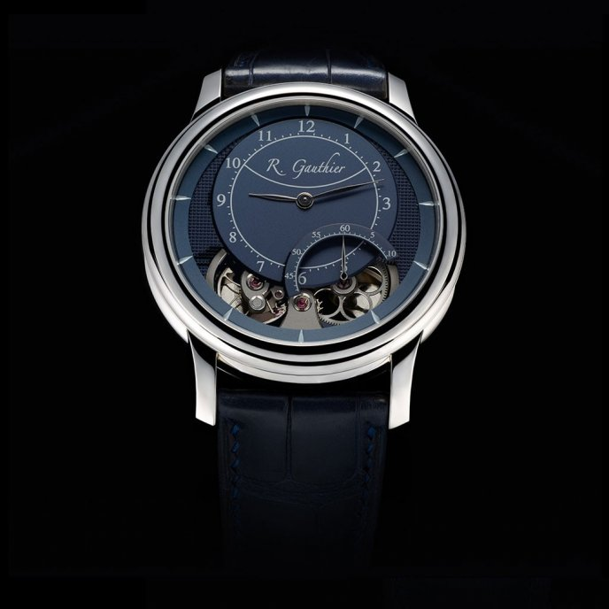 Romain Gauthier HMS Ten watch face view