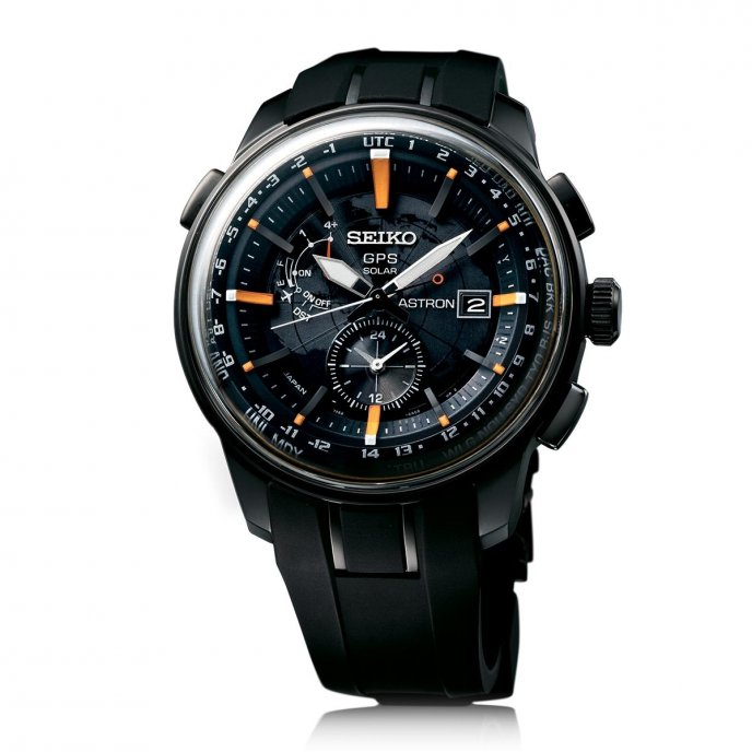 Seiko Astron GPS Solar SAS035 - watch face view