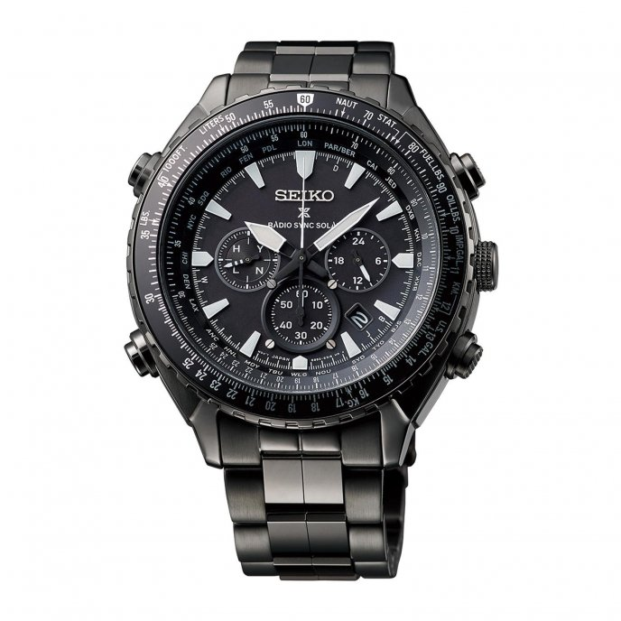 Prospex Radio Sync Solar World Time Chronograph