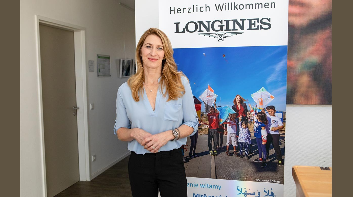 Longines - Stefanie Graf welcomes Longines at her foundation