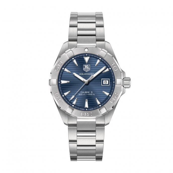 TAG Heuer Aquaracer 300M WAY2112.BA0910 watch face view