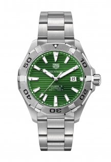 Aquaracer Gents Green Dial
