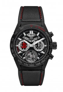 Carrera Heuer 02 Tourbillon Chronograph Chronometer