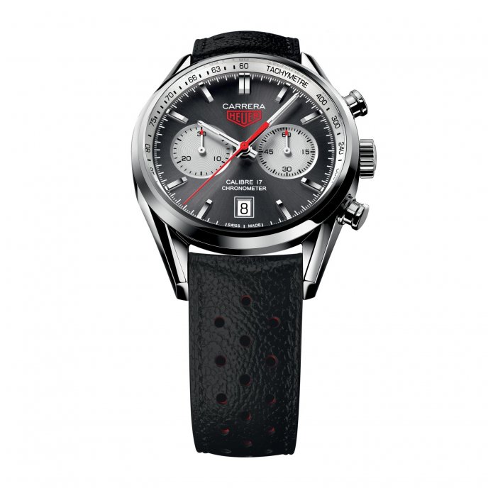 TAG Heuer Carrera Calibre 17 Chronograph CV5110.FC6310 - face view
