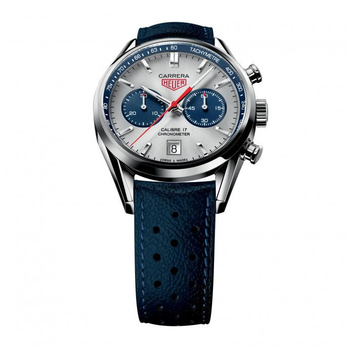 TAG Heuer Carrera Calibre 17 Chronograph CV5111.FC6335 - face view