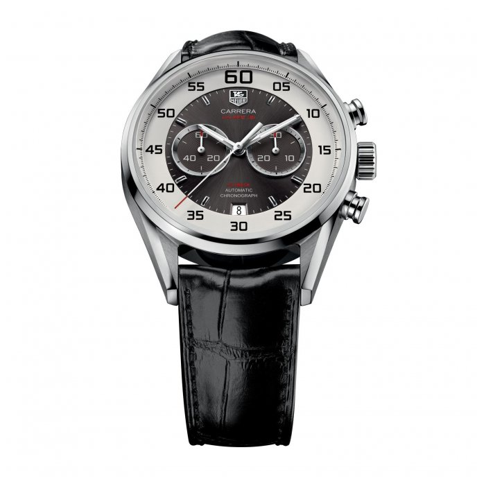 TAG Heuer Carrera Calibre 36 Flyback Automatic Chronograph CAR2B11.FC6235 - face view