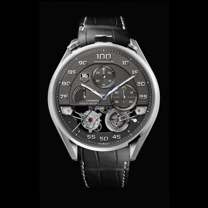 TAG Heuer MikroPendulum Tourbillon watch-face-view