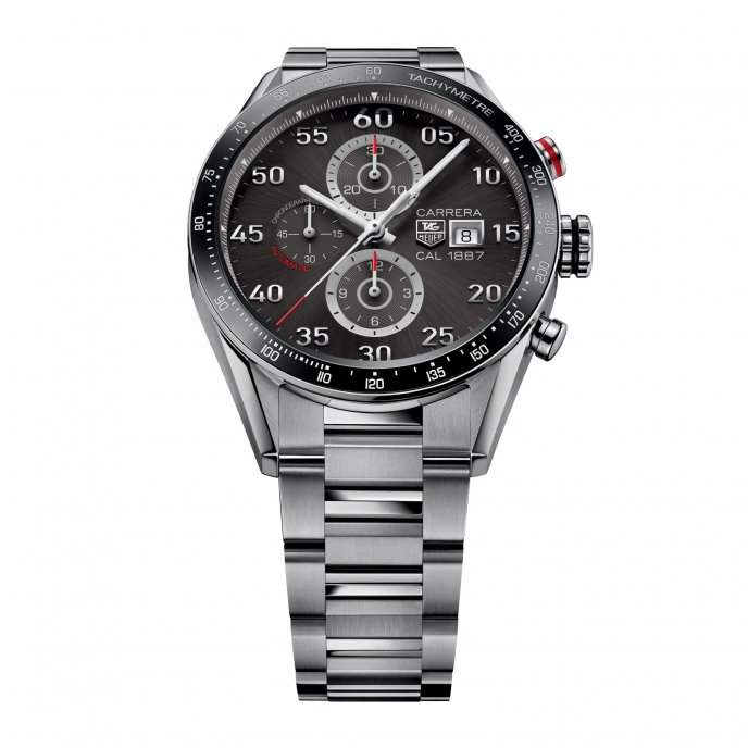 TAG Heuer - Carrera - Calibre 1887 Chronograph 43mm - CAR2A11.BA0799