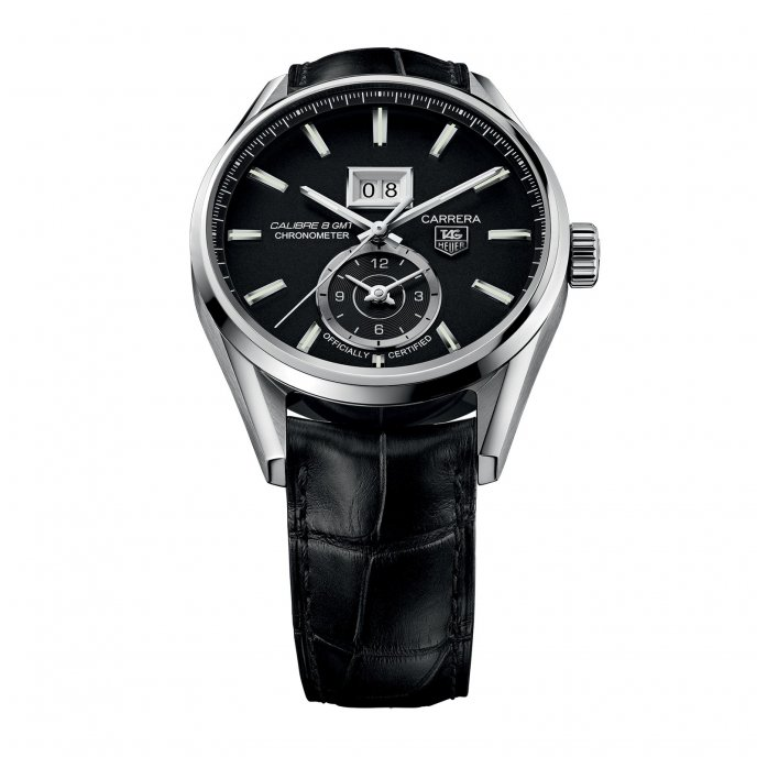 TAG Heuer - Carrera - Calibre 8 Grande Date GMT 41mm - WAR5010.FC6266