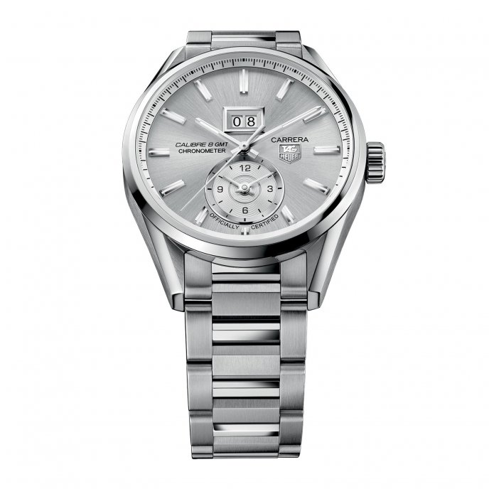 TAG Heuer - Carrera - Calibre 8 Grande Date GMT - WAR5011.BA0723