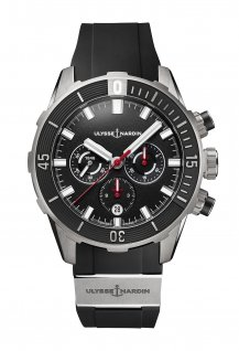 Diver Chronograph 44 MM Black & Titanium