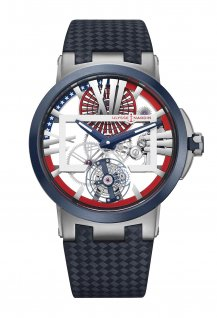 Executive Skeleton Tourbillon « Stars & Stripes »
