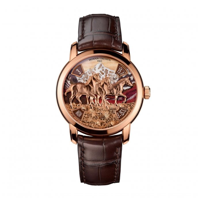 Vacheron Constantin Métiers d'Art L'éloge de la Nature - Chevaux 86073/000R-B020 watch-face-view