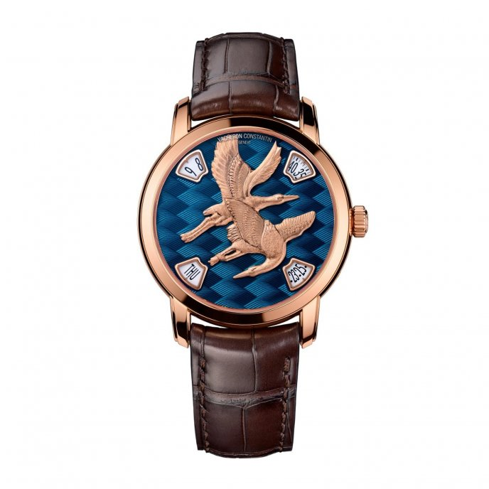 Vacheron Constantin L'éloge de la Nature - Grues 86073/000R-B013 watch-face-view