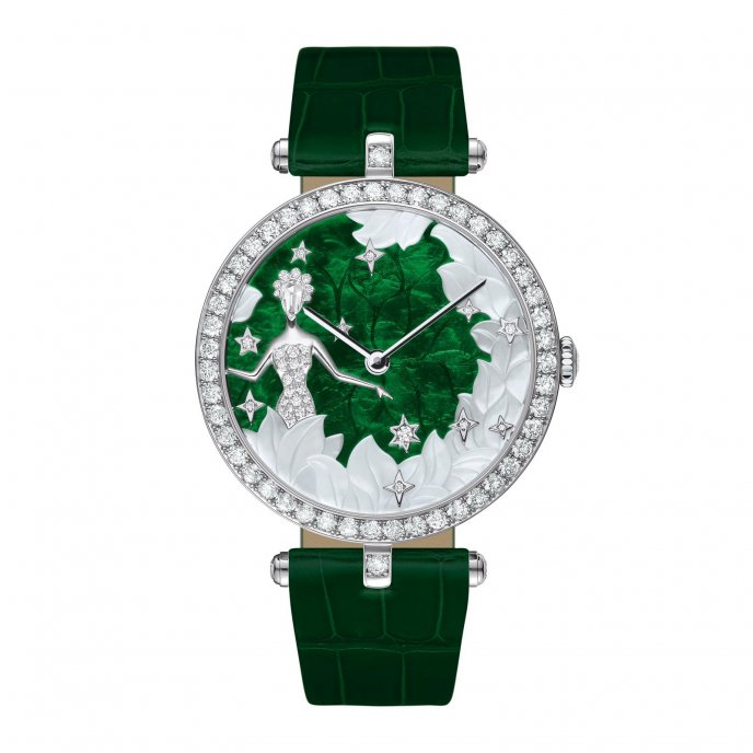 Van Cleef & Arpels Cadran Extraordinaire Lady Arpels Zodiac Virgo - watch face view