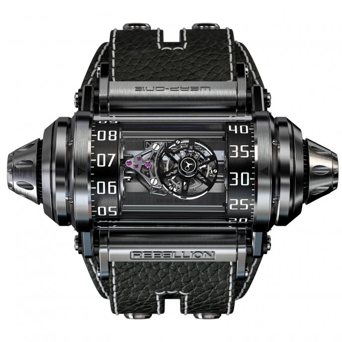 Weap-One Asymmetrical Flying Tourbillon