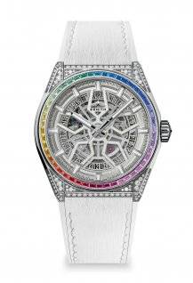 Defy Classic High Jewelry Rainbow