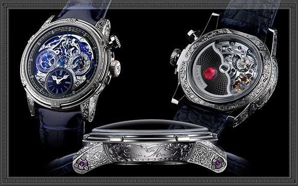 Louis Moinet Memoris Red Eclipse
